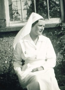 Eva, working as a nurse in Falmouth